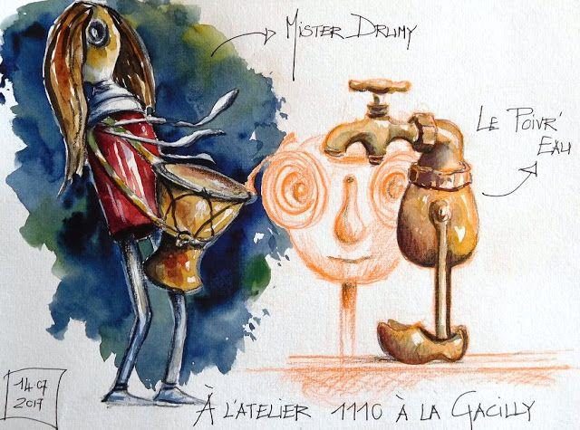 Croquis Carnets De Voyage Et Aquarelle Stage De Croquis En Ligne