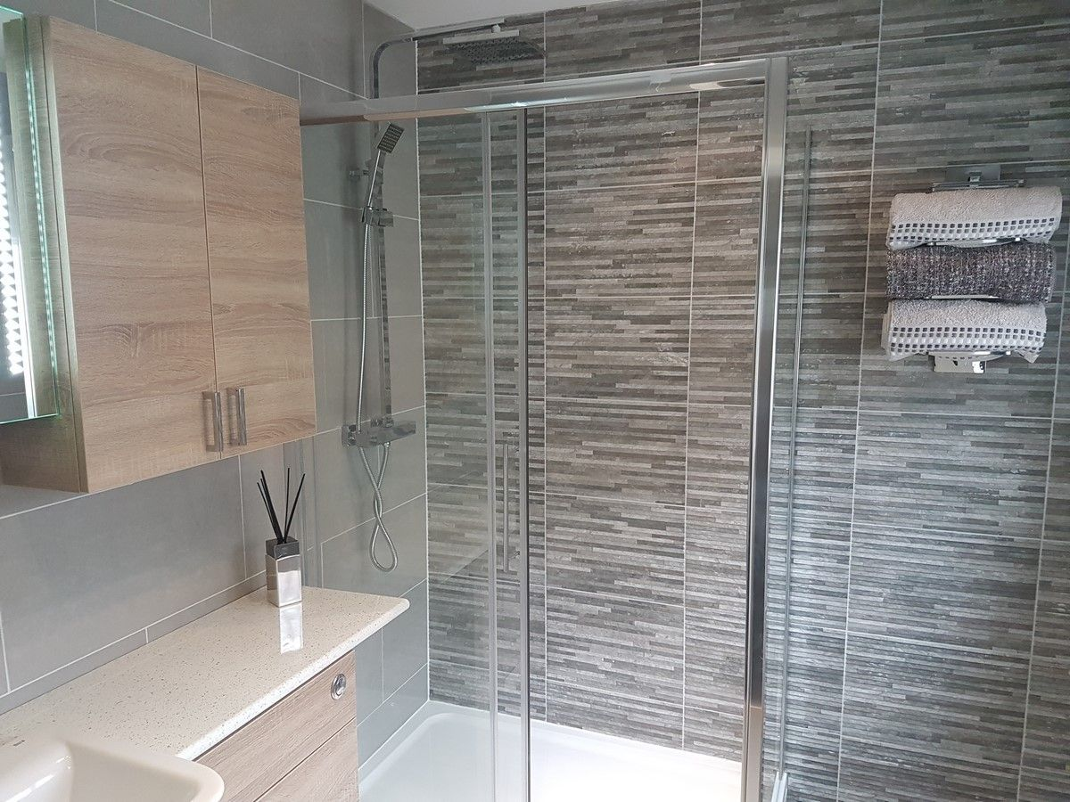 Brix Anthracite Wall Tiles | Bathroom design small, Small ...