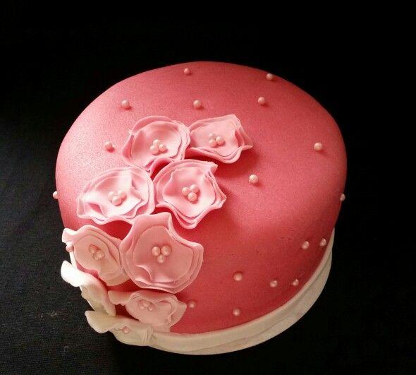 Pink cake / roze taartje