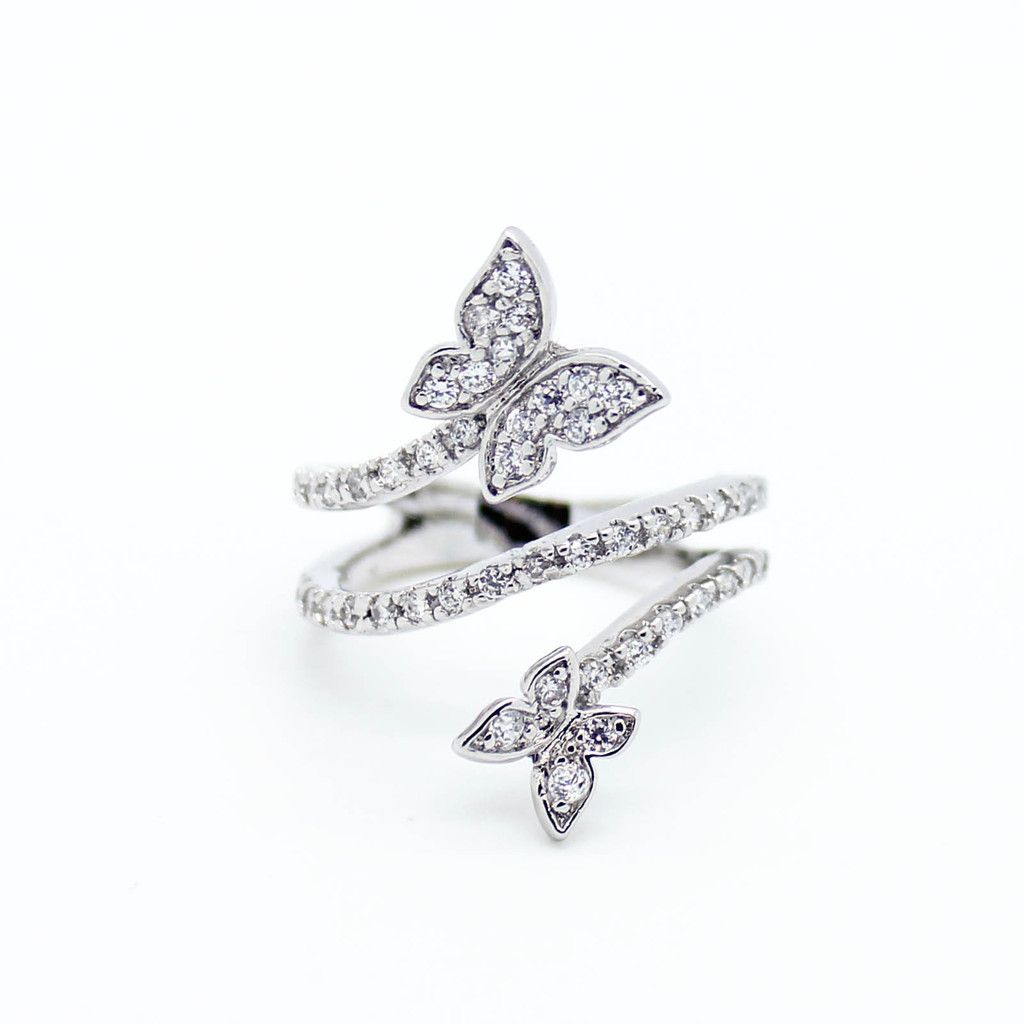 world rings ring adac fluttering butterfly jewelry persona products