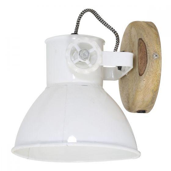 wandlamp elay hout natural wit muur idee kleur