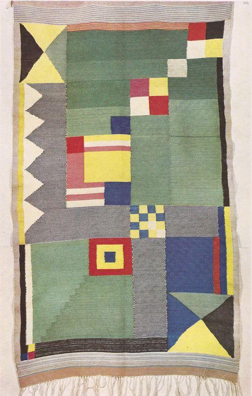 Crafts of the Weimar Bauhaus Bauhaus textiles, Bauhaus