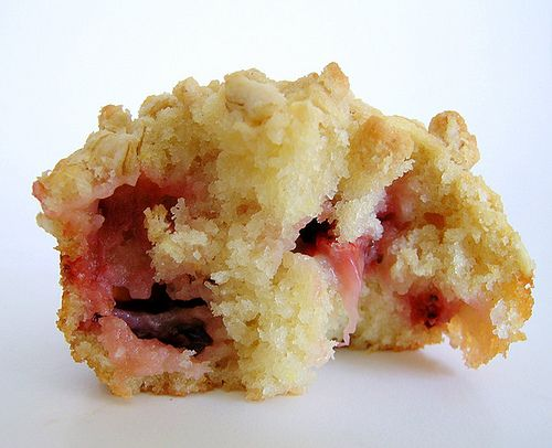 What I'm making tonight: Strawberry Crumble Muffin