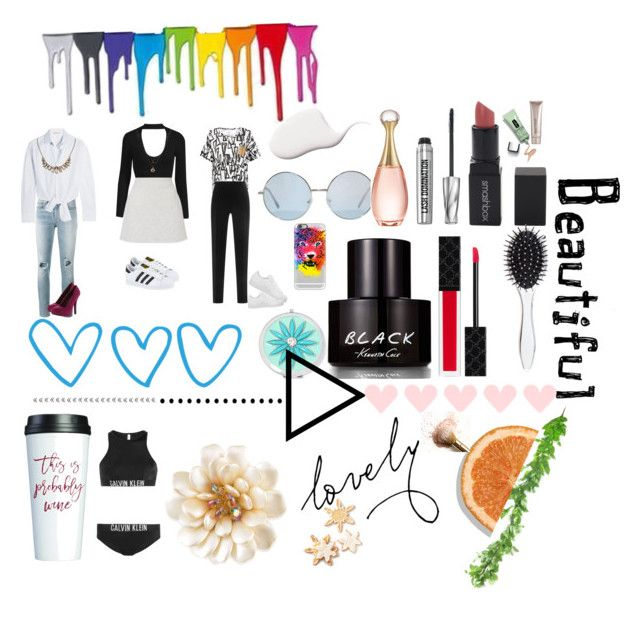 """Fabulous"" by snyderbyers on Polyvore featuring Yves Saint Laurent, Maje, Qupid, Lipsy, adidas, sass & bide, Antonio Berardi, Casetify, Liz Claiborne and Kenneth Cole"