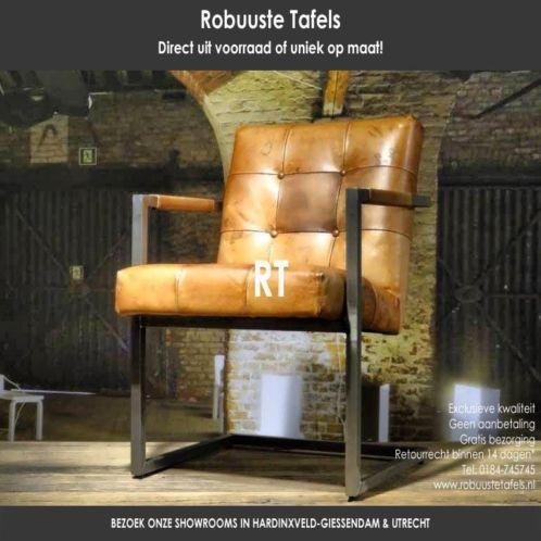 Vintage leren eetkamerstoelen - INDUSTRIELE EETKAMERSTOELEN! | Chair ...