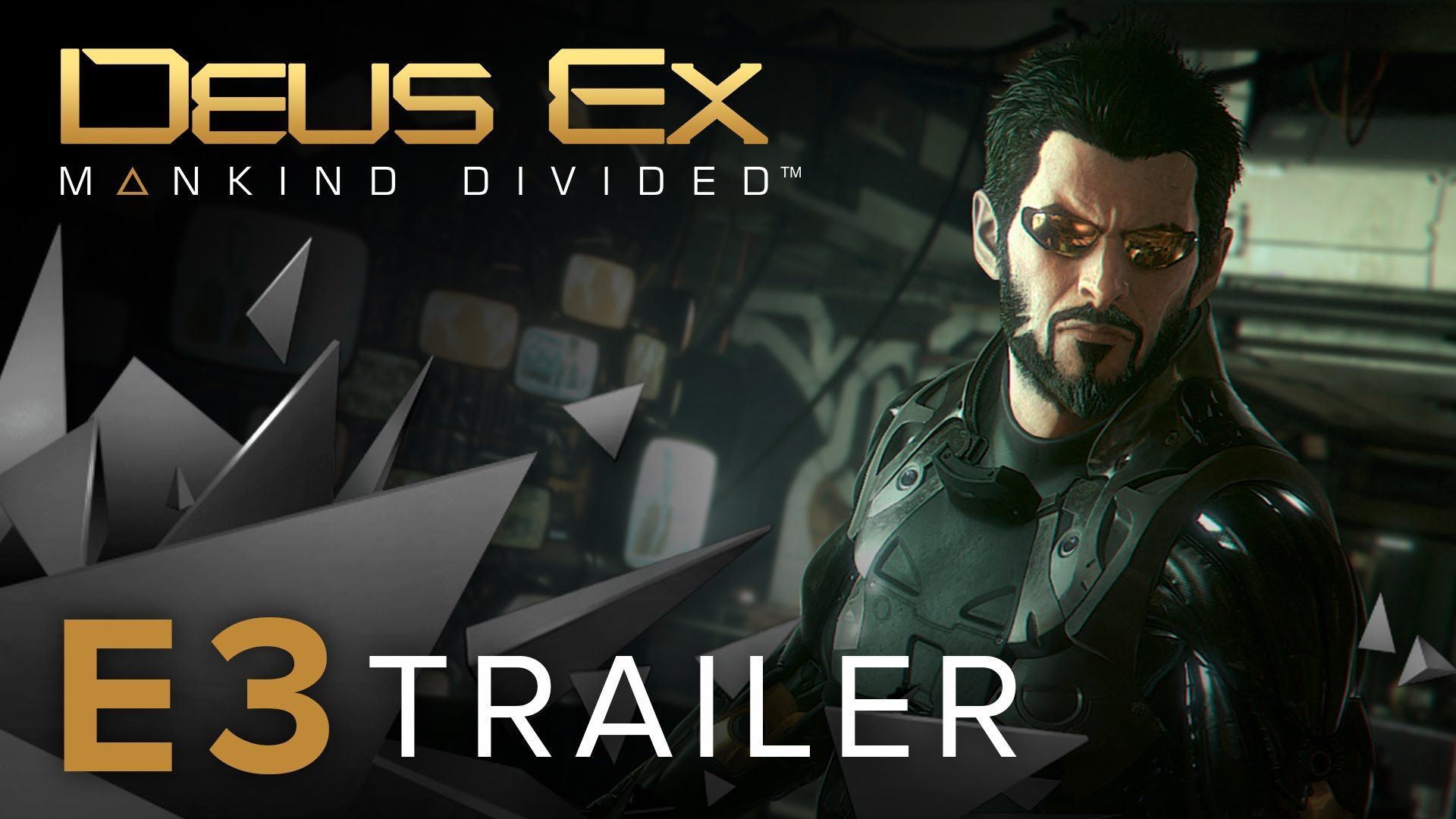 Square Enix Already Showcase Gameplay Of Deus Ex Mankind Divided On Their Youtube Channel And Now In E3 Develo Deus Ex Deus Ex Mankind Divided Deus Ex Mankind