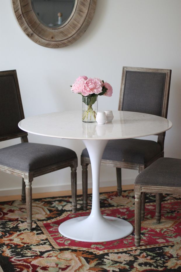 Marble Tulip Table Modern Marble Dining Tables Marble Tulip Table Classic Dining Room