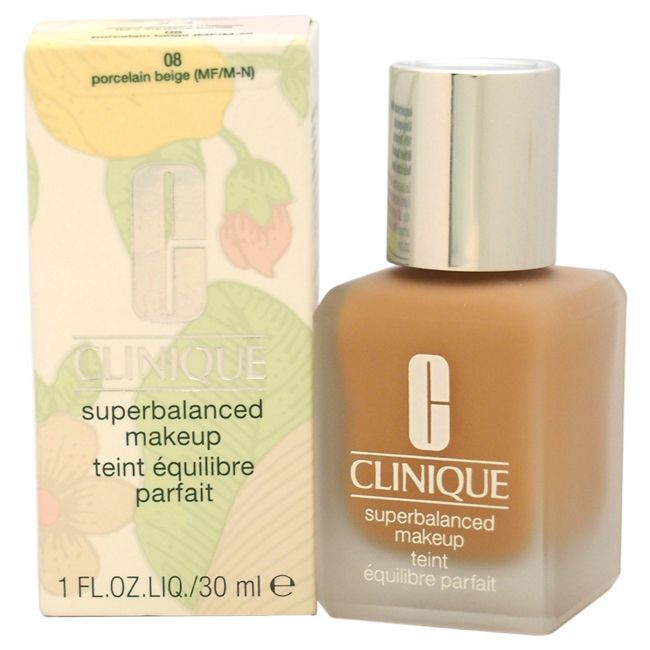 Clinique Superbalanced Makeup # 08 Porcelain Beige (MF/M-N) Normal To Oily Skin Foundation (1)