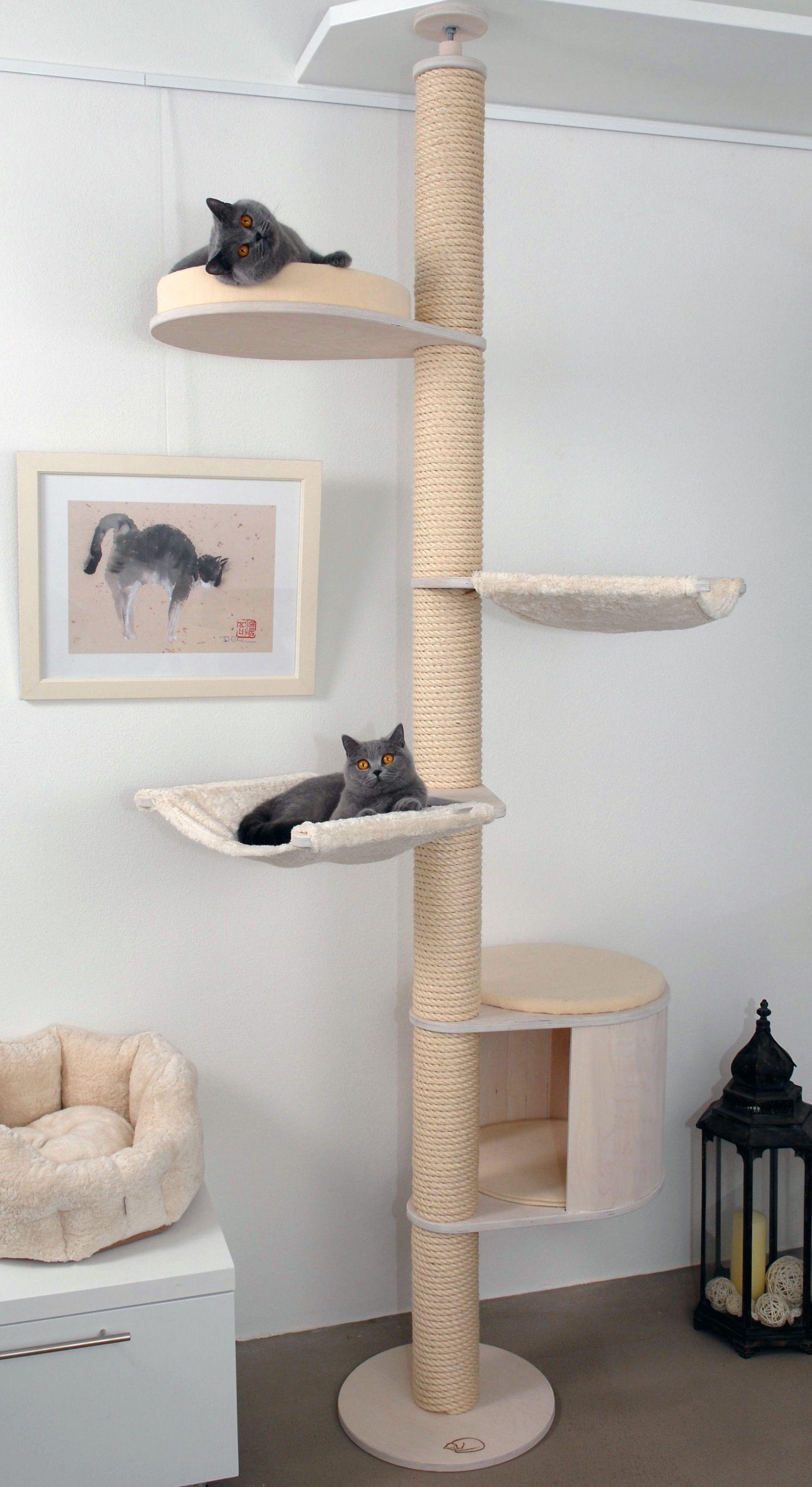 deckenspanner modell luisa von profeline in der holzfarbe. Black Bedroom Furniture Sets. Home Design Ideas