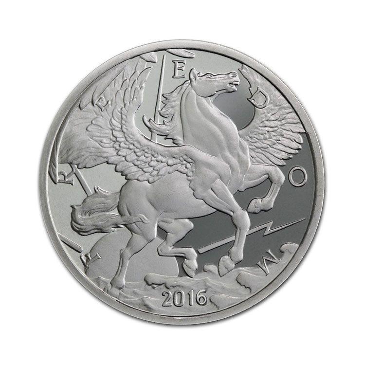 1 Oz Pegasus Silver Round Common Date Silver Bullion Silver Rounds Silver Value