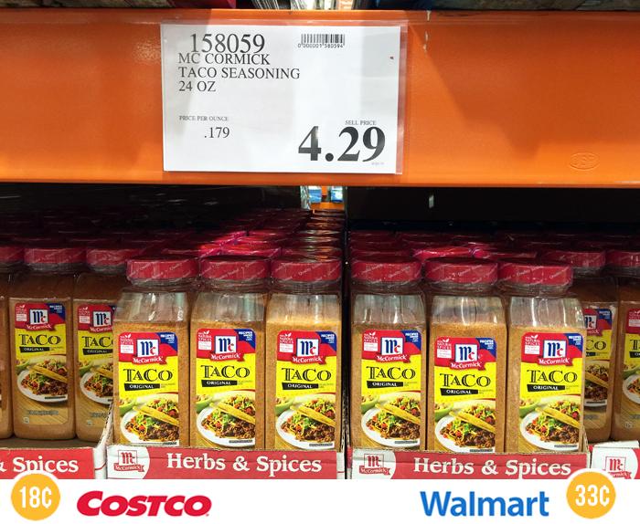 Costco Taco Seasoning Costco Healthy Pantry Staples Costco Finds