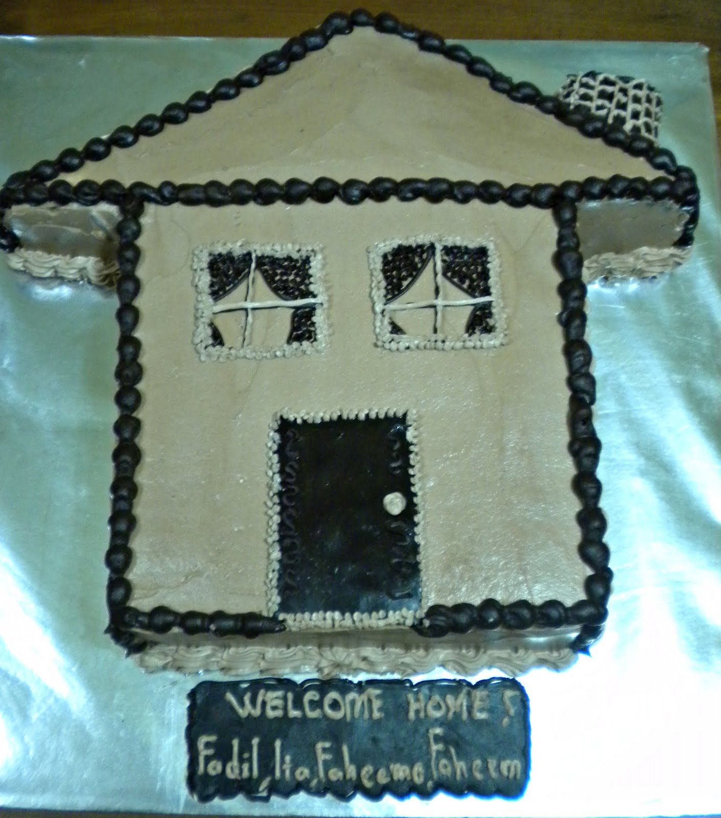 House shaped cake recipes