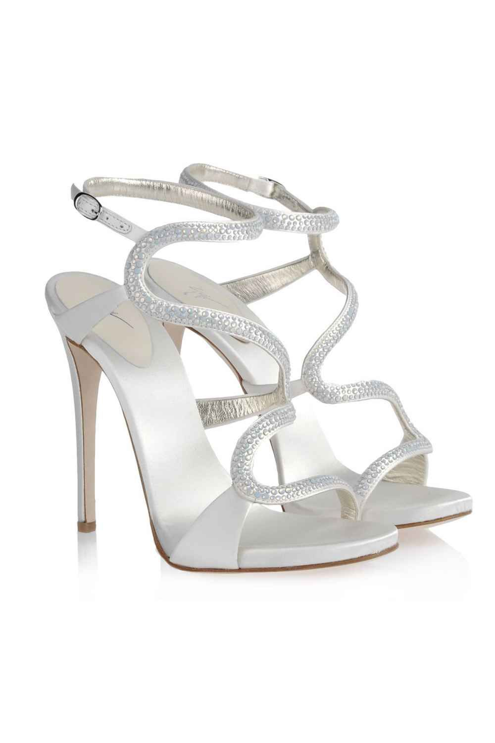 73956c74c2df1 30+ Gorgeous Shoes That Make A Wedding Dress Look Even Better ...