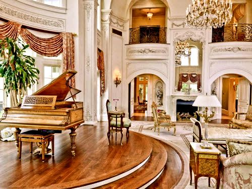 Hard To Imagine A House Big Enough For A Grand Piano Oh