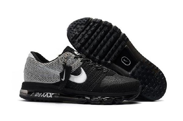 12b6721d5c5b8 Nike Air Max 2017 Gray Black Sports Shoes by Melena Marcos