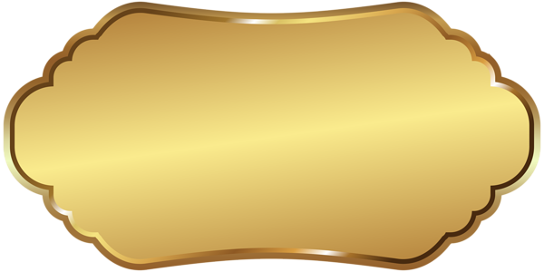 Label Template Gold Png Clip Art Image Art Images Free To Use Images Clip Art