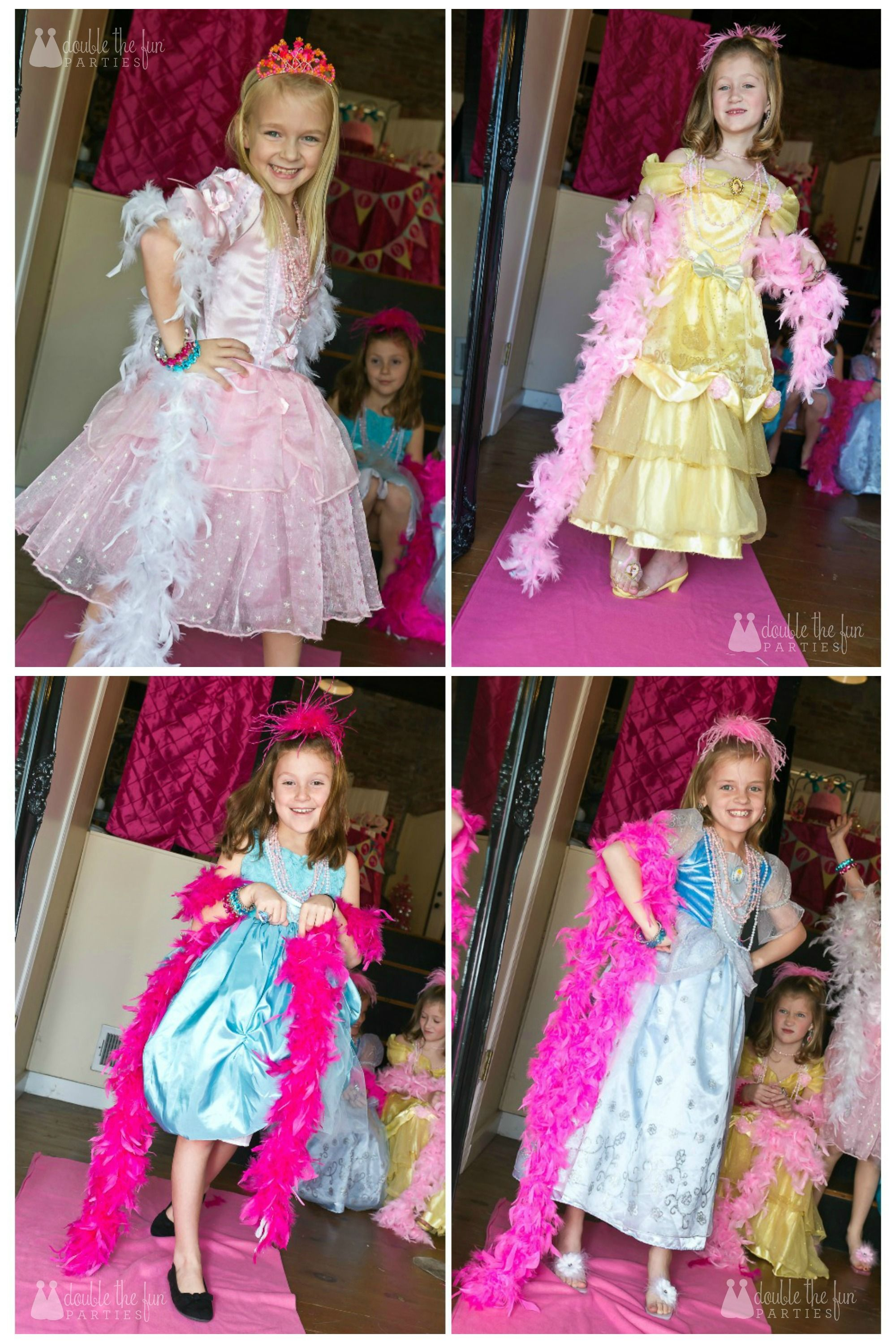 My Parties: Dress-Up Birthday Party | Twin girls, Mermaid parties ...