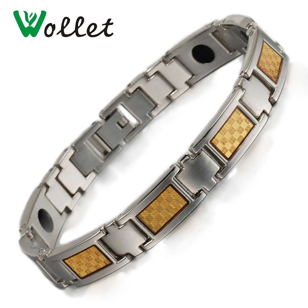 Click to buy ucuc wollet jewelry health energy couple bracelet men