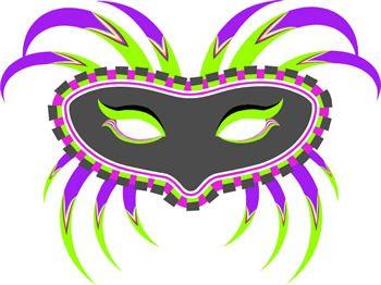 75 awesome colorful masquerade masks clip art masquerade party
