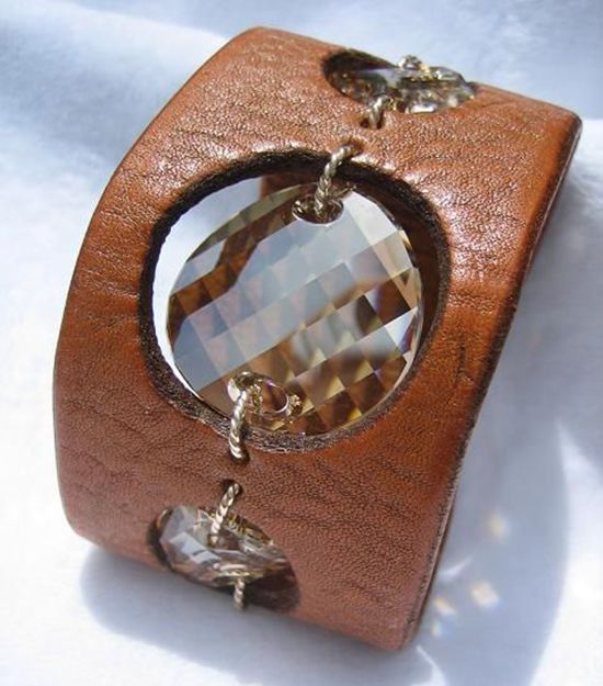 Photo of 30 simple ideas: leather jewelry with your own hands