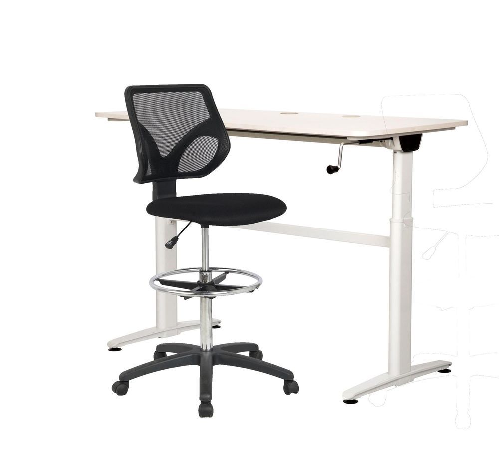 Cool living adjustable stand up home office desk table drafting
