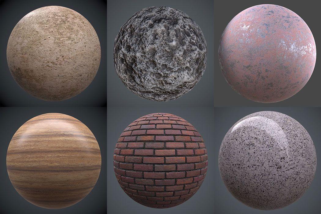 Descarga Más De 70 Materiales Pbr Gratis Ejezeta Textura De Piedra Textura De Ladrillo Disenos De Unas