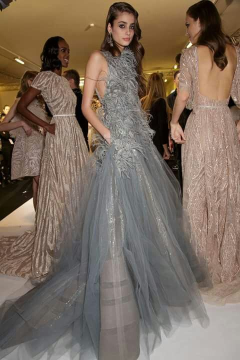 Backstage at Elie Saab- Haute Couture summer/spring 2015