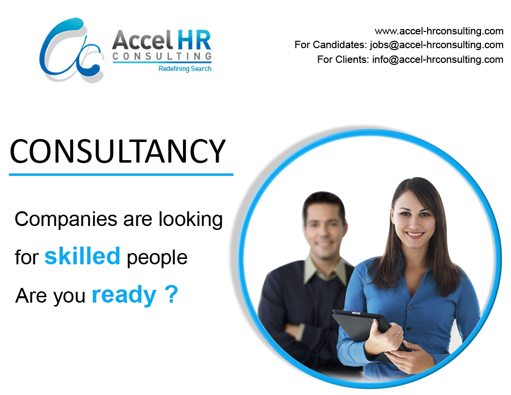 Accel HR Consulting. Your consultant will advise you on