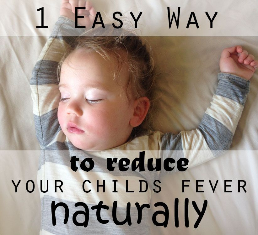 How To Get A High Fever Down In A Toddler