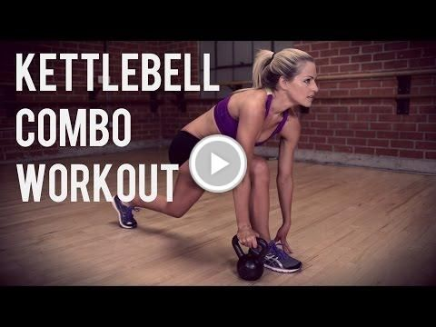 25 minute kettlebell combo workout for full body