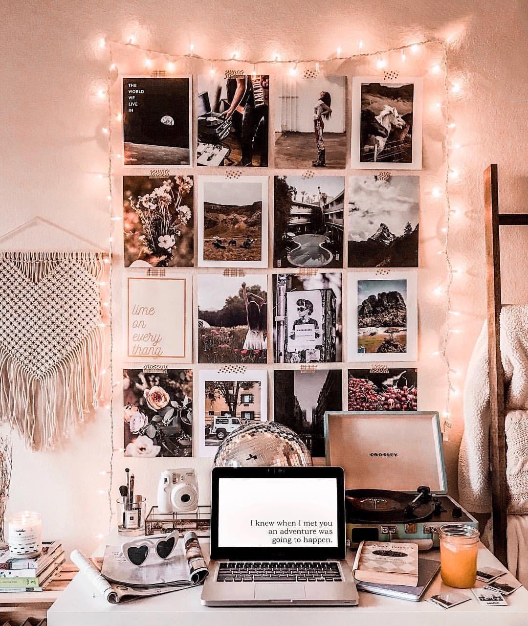 Home Deskdecor Ideas: Collage Gallery Wall @astoldbymichelle #deskideas