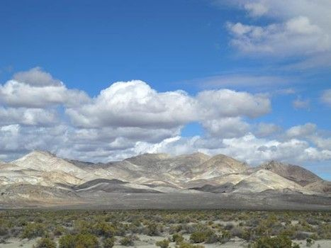 Calico Mountains in the Black Rock Desert NCA of northern Nevada.