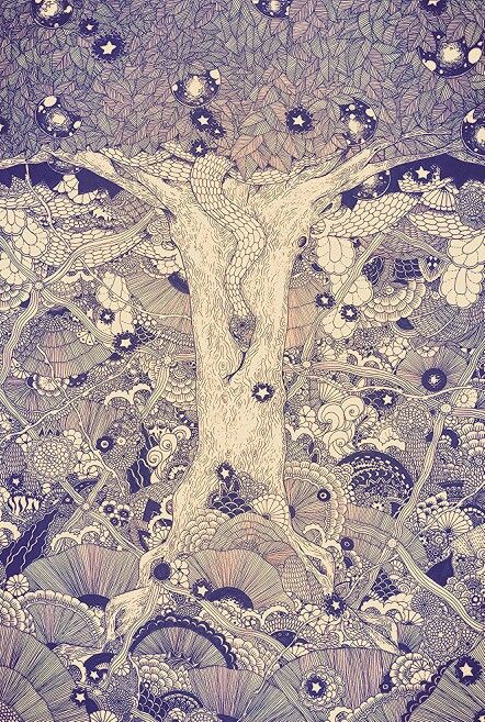 「hope tree Ⅰ《叡智の番人》」 2013.12.17