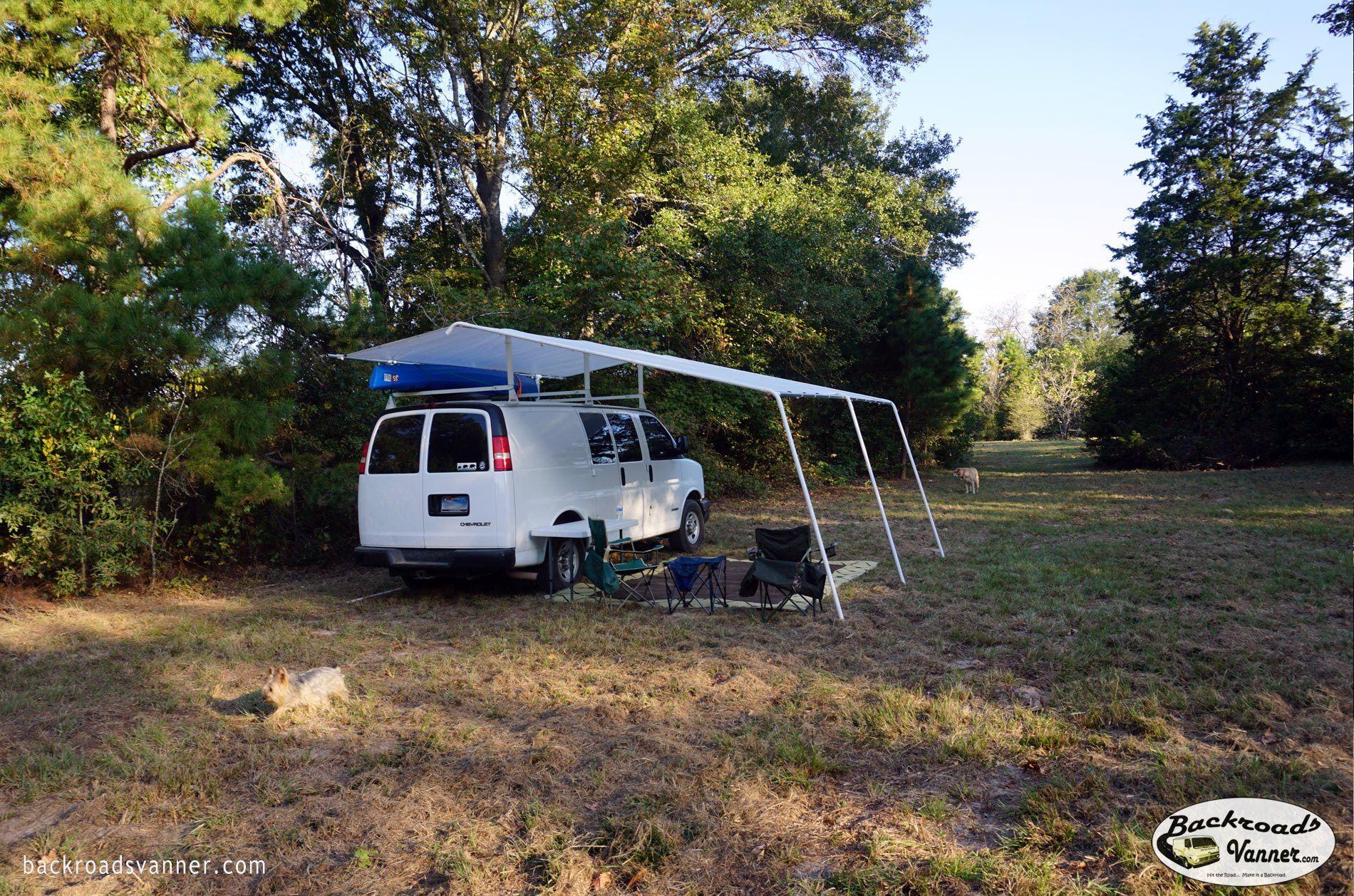 van life custom van awning system how to diy van canopy so