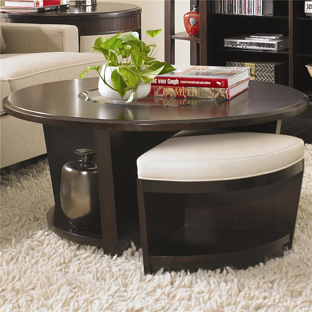 Best Westwood Round Cocktail Table With Stools By Bernhardt 400 x 300