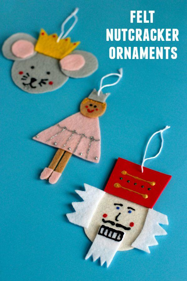 Diy Felt Nutcracker Ornaments Nutcracker Crafts Nutcracker