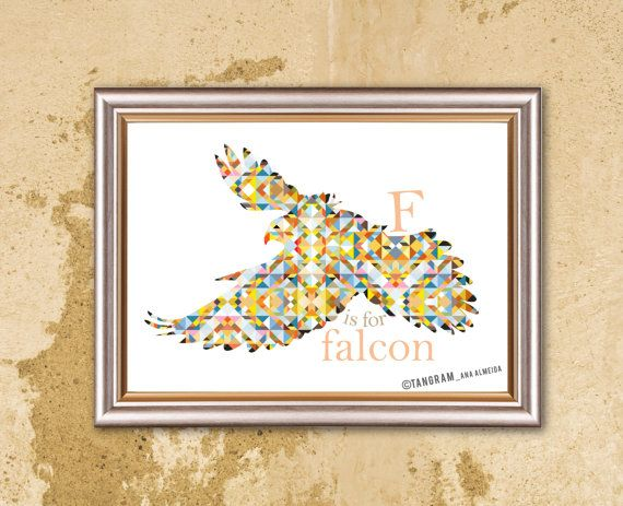Baby Boy & Girl Nursery Room Poster Wall Decor by TANGRAMartworks ...
