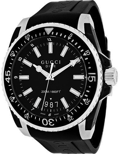f820554c368 Gucci Watches Mens Dive XL Watch