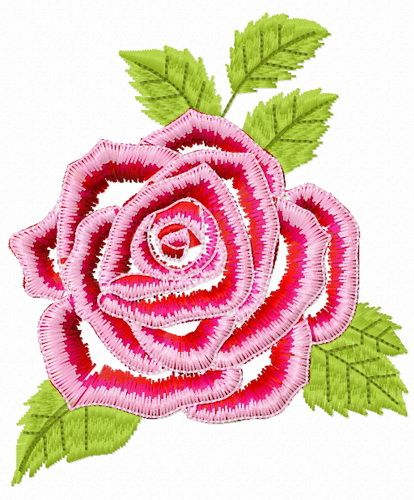 Gorgeous Rose Flower Embroidery Design Flower Machine Embroidery Designs Embroidery Designs Embroidery Flowers