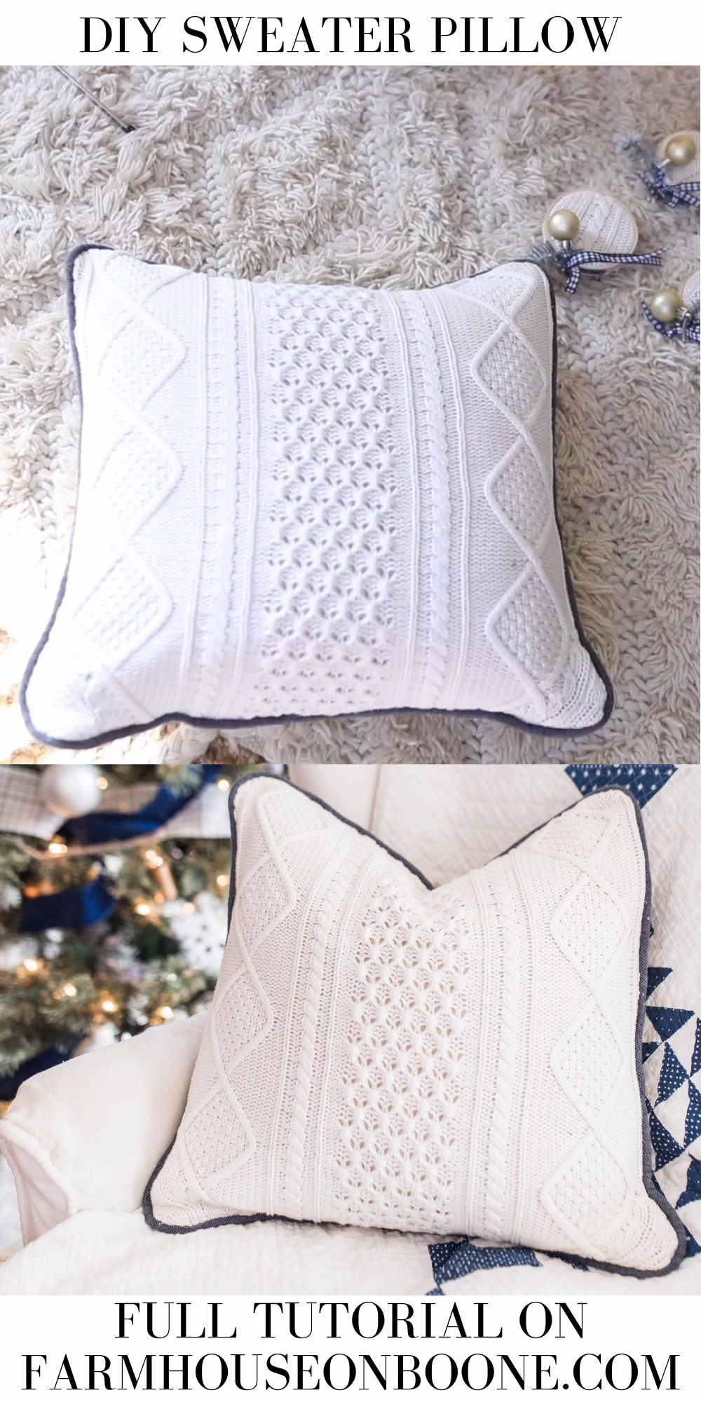 Photo of How To Make A Pillow From A Sweater