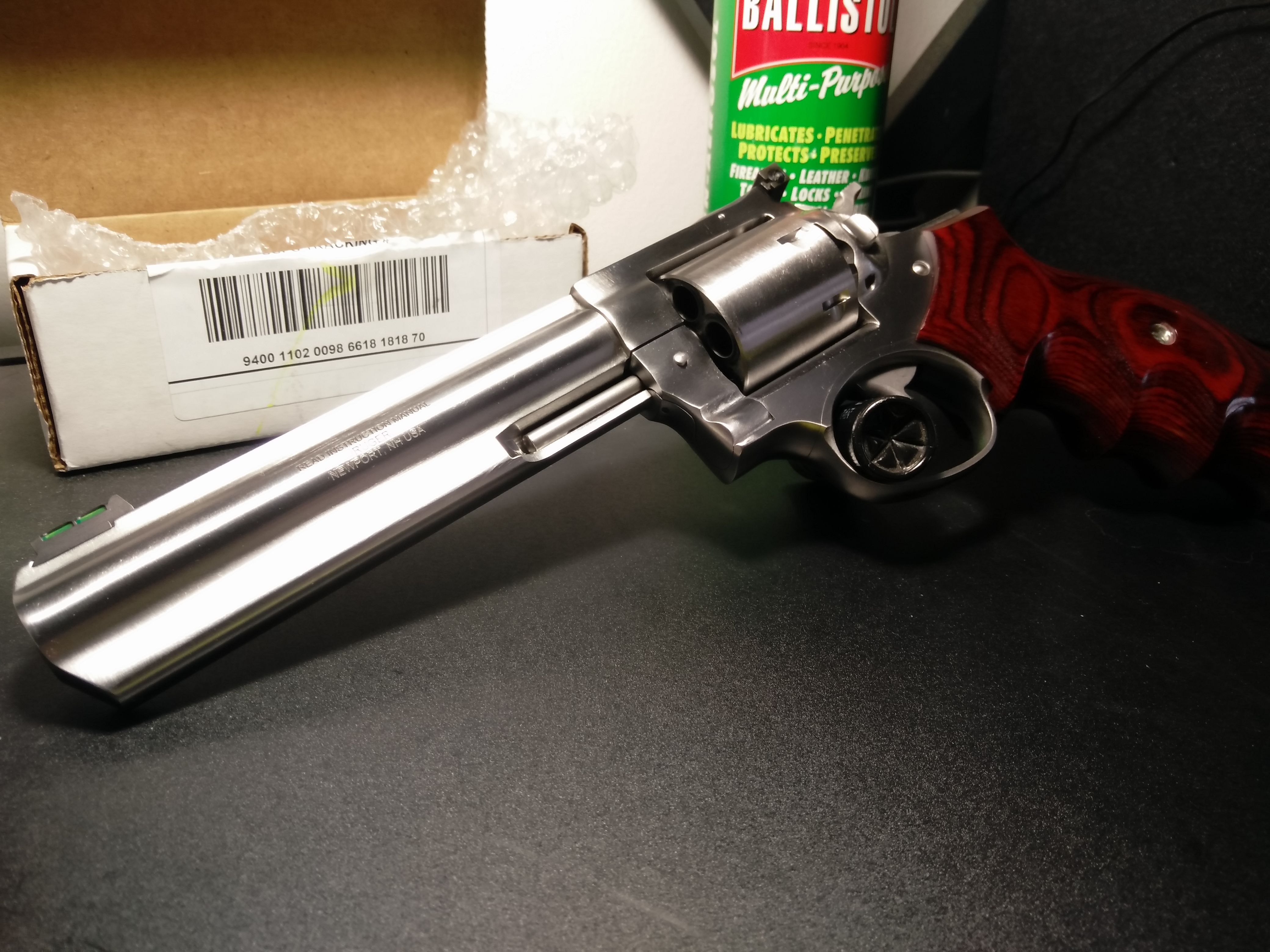 My 6 inch Talo Edition Ruger GP100 with Badger Custom
