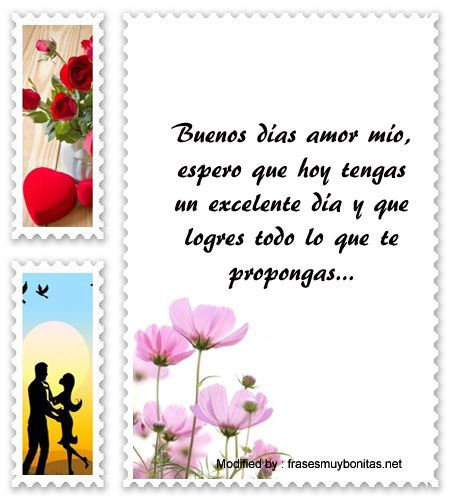 Mensajes De Buen Día Para Tu Amor