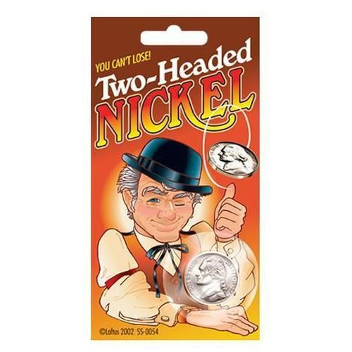 Magic Two Headed Nickel PIN IT NOW and SHARE - Order Yours at:   GagWorks.com | The Worlds Premiere Joke Shop - Your Source for Silly  #Magic #Joke #Silly #Gags #Laugh #JokeShop #Awesome #Prank #Novelties #Novelty #GagWorkscom #Toys #GagWorks #Pranks #Jokes #Funny #Jester