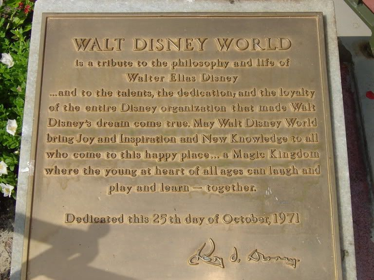 Walt disney world is a tribute to the philosophy and life of walter walt disney world is a tribute to the philosophy and life of walter elias disney and to the talents the dedication and the loyalty of the entire voltagebd Choice Image