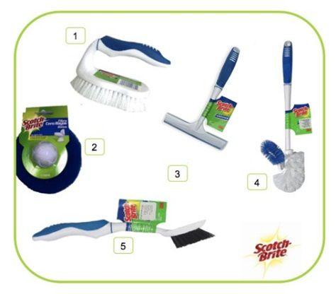 Estos son algunos productos que de seguro te ayudar n con la limpieza de tu ba o 1 cepillo - Productos para limpiar el bano ...