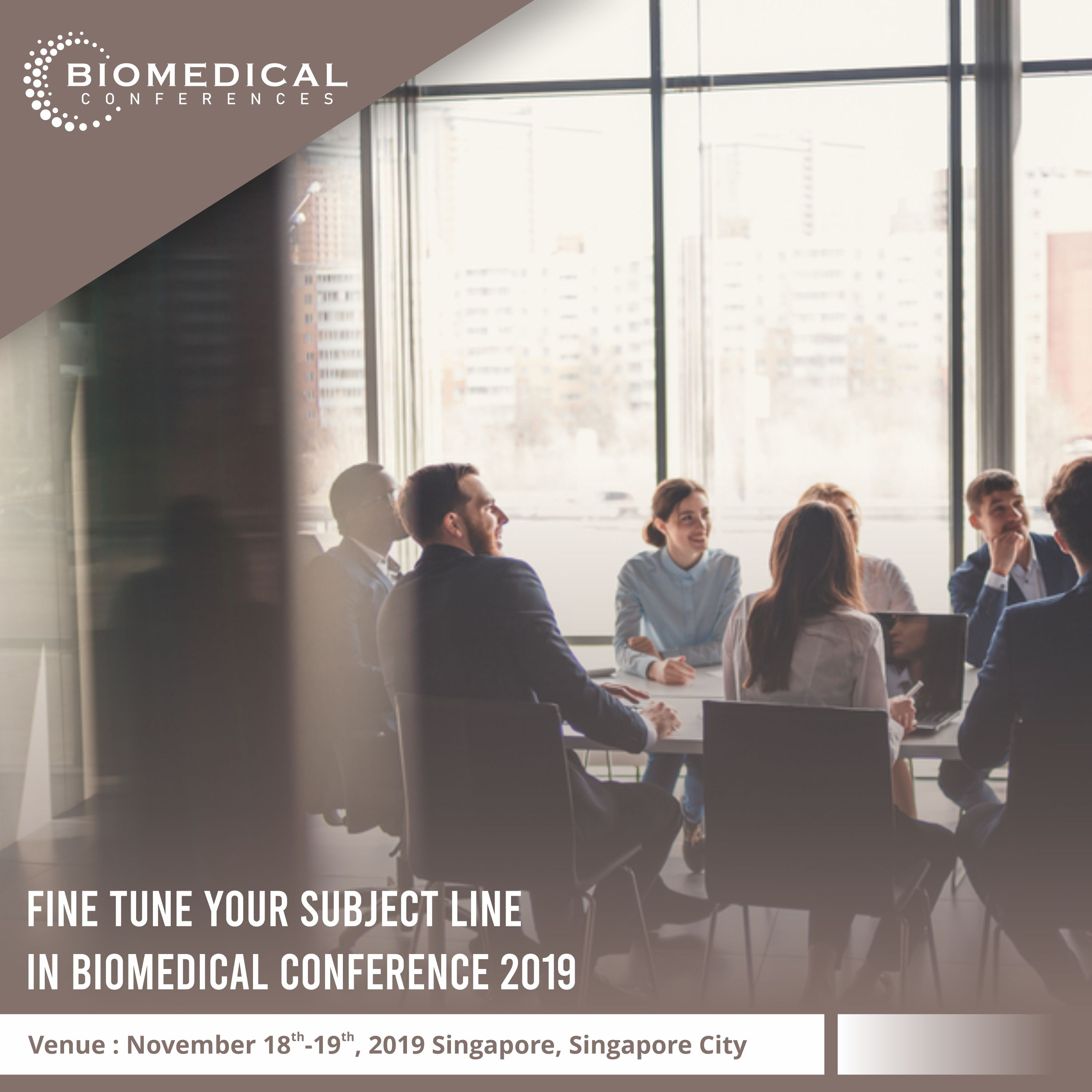 Biomedical Conferences provides a great platform by