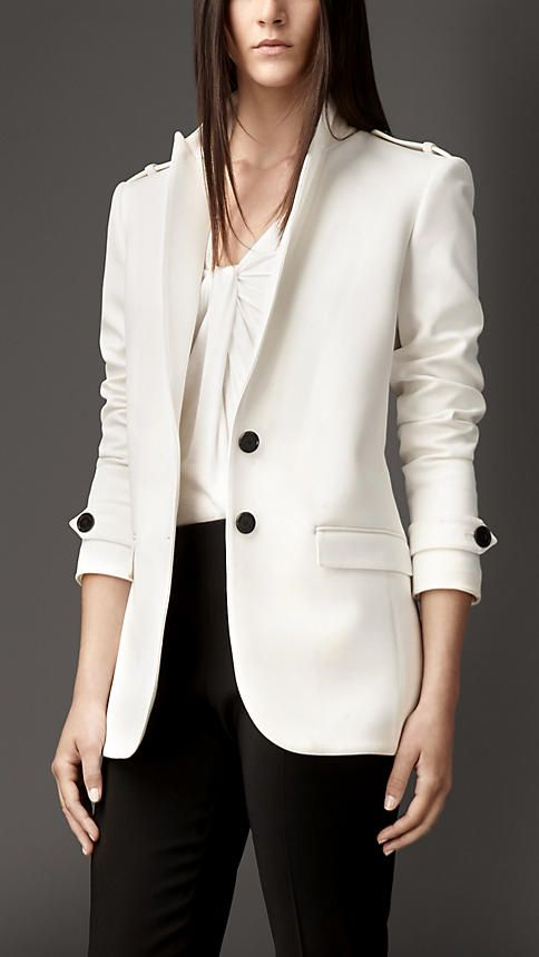 Straight Fit Tailored Jacket Fashion Tailored Jacket Clothes