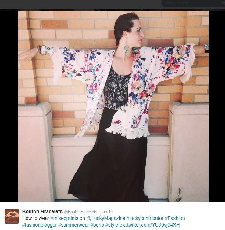 How I wear Bayabelle, with mixed prints! #bayabelle #boutique #bohochic