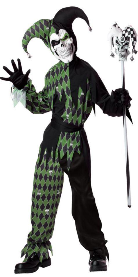 Boys Jokes On You Evil Jester Costume - Party City | dressing up ...