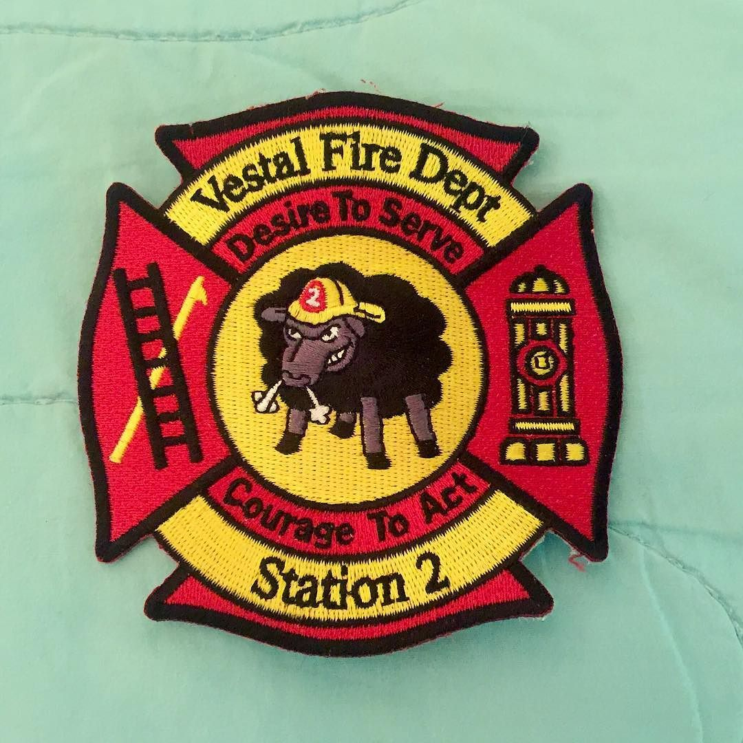 Vestal fire department station 2 patch from upstate new york desire to serve